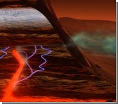 Красная планета подает признаки жизни?