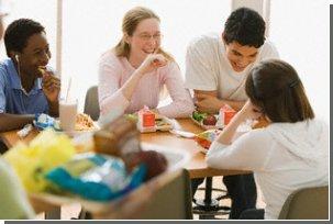 Что Вы едите, зависит о того, с кем Вы едите