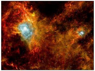 Телескоп Herschel нашел источники космического ИК-излучения