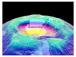 Озоновая дыра уменьшается, ускоряя глобальное потепление