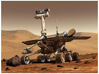 Обездвиженный марсоход Spirit станет стационарной станцией